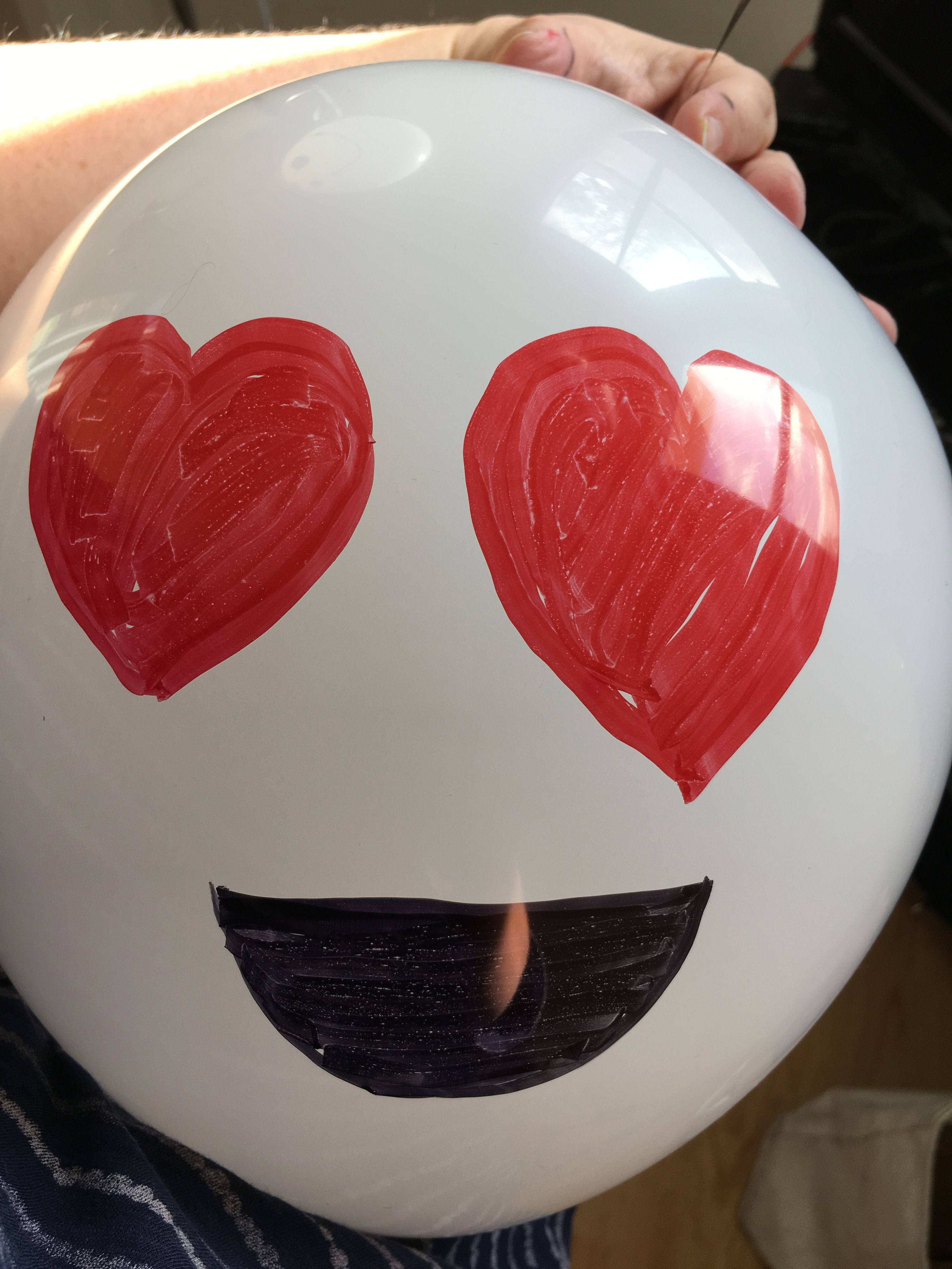 Halloween ghost heart emoji balloon Halloween ghost crafts - Halloween Ghost Decorations