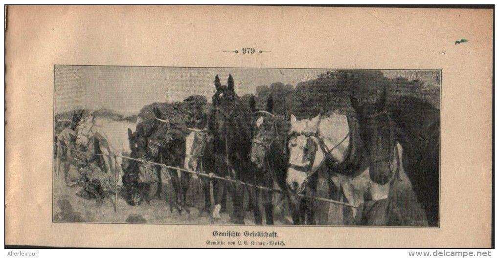 Gemischte Gesellschaft Druck Entnommen Aus Die Gartenlaube 1909 Artikelnummer 397442738 Gartenlaube Laub Drucken