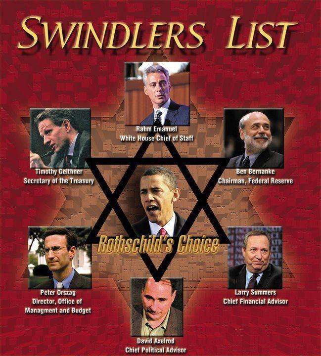 Swindler's List!