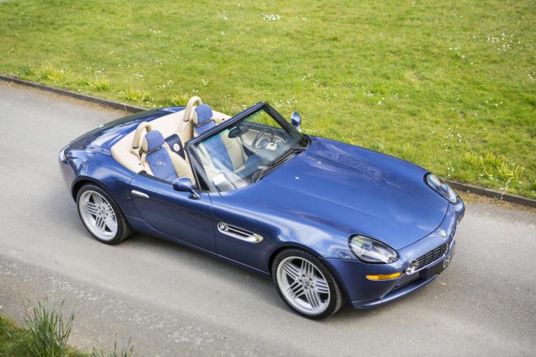 bmw z8   2003 bmw z8 alpina v8 roadster sold at auction for $ 329000 ...