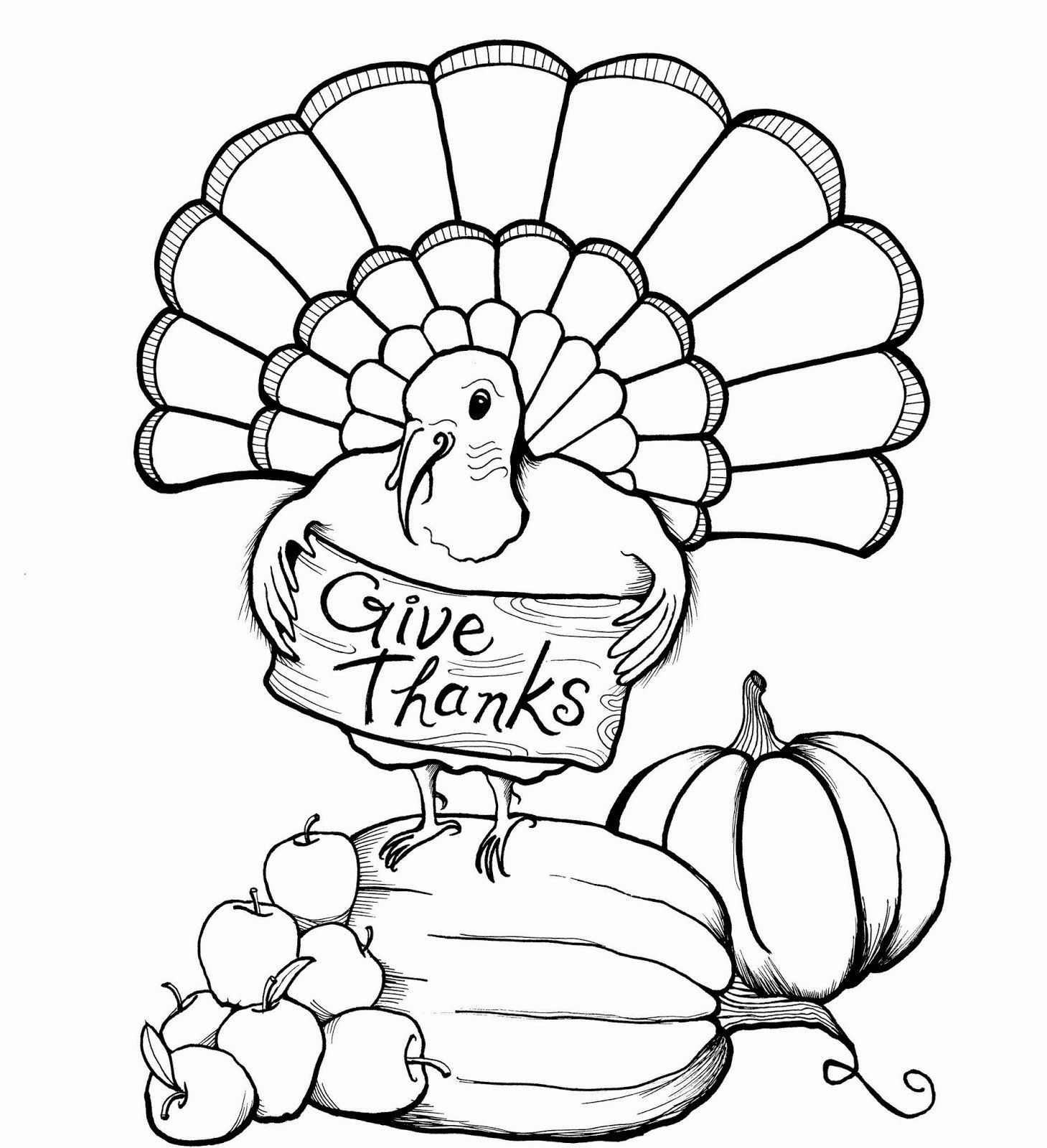 Turkey Coloring Pages Printable in 2020 (With images