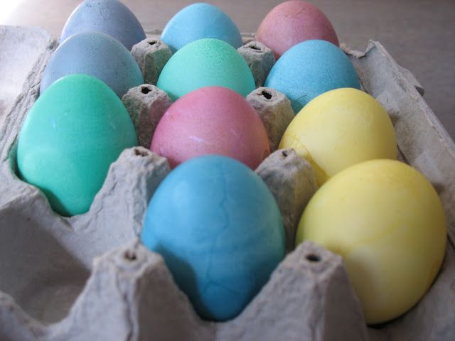 The Geeky Loft: Easy Easter Eggs without buying a thing!