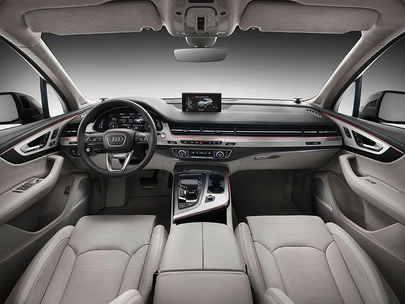 Audi Q7 Plug In Hybrid Sheds 700 Pounds With Carbon Fiber Components Audi Q7 Interior Audi Q7 Audi Q7 Price
