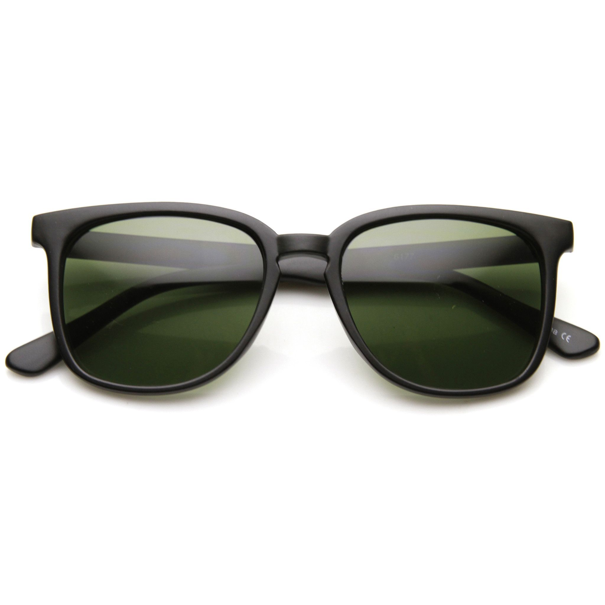 Indie Hipster Retro Dapper Horned Rim Sunglasses 9497