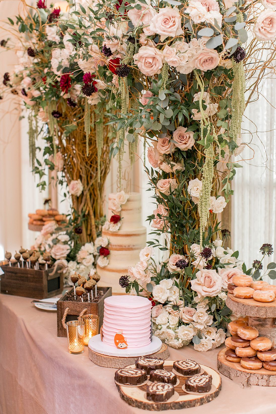 Lovely An Elegant, Woodsy Themed Baby Shower | The Little Umbrella
