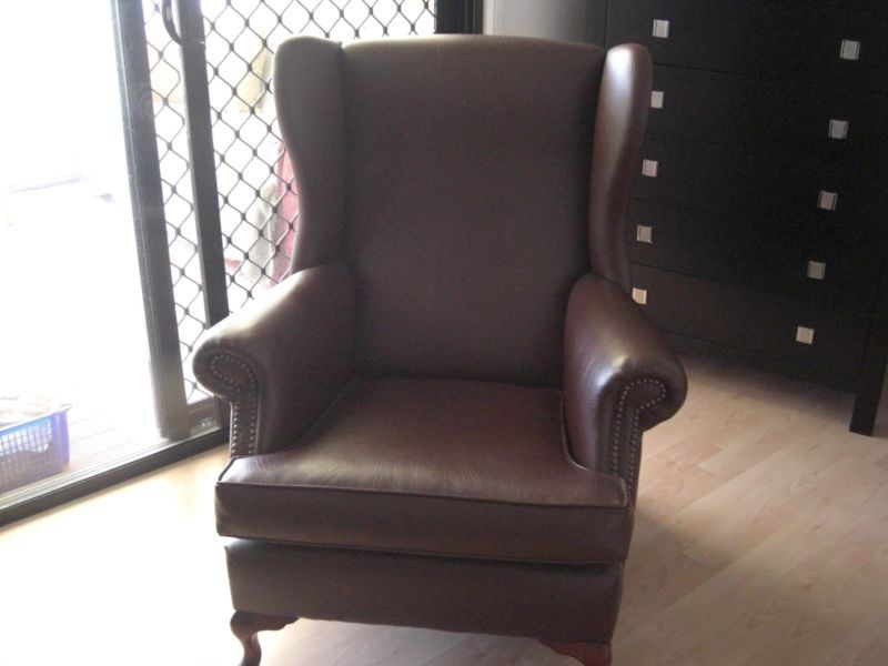 Beautiful Leather Antique Chair Antiques Gumtree Australia Gold Coast North Oxenford 1076280921 Antique Chairs Beautiful Leather Armchair