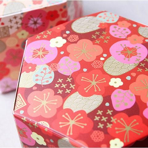 Sakura Christmas Party.10pcs Lot Cherry Blossom Christmas Party Baking Box Sakura
