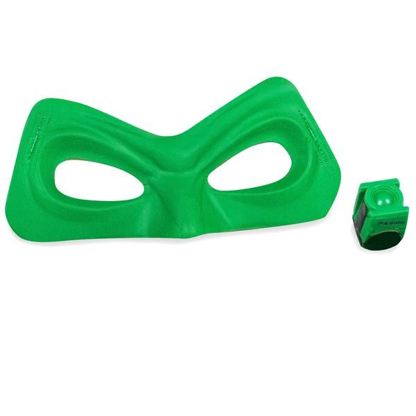 Green Lantern Mask And Ring Accessory Kit Costume Accessories