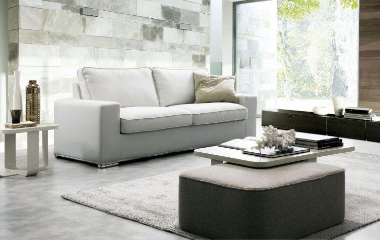 placido, un divano sfoderabile con uno stile casual e