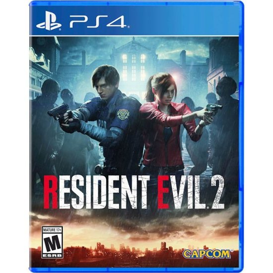 Resident Evil 2 Standard Edition Playstation 4 Playstation 5 56052 Best Buy Resident Evil Resident Evil 2 Ps4 Evil