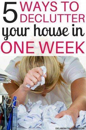 5 Ways to Declutter Your House in One Week images