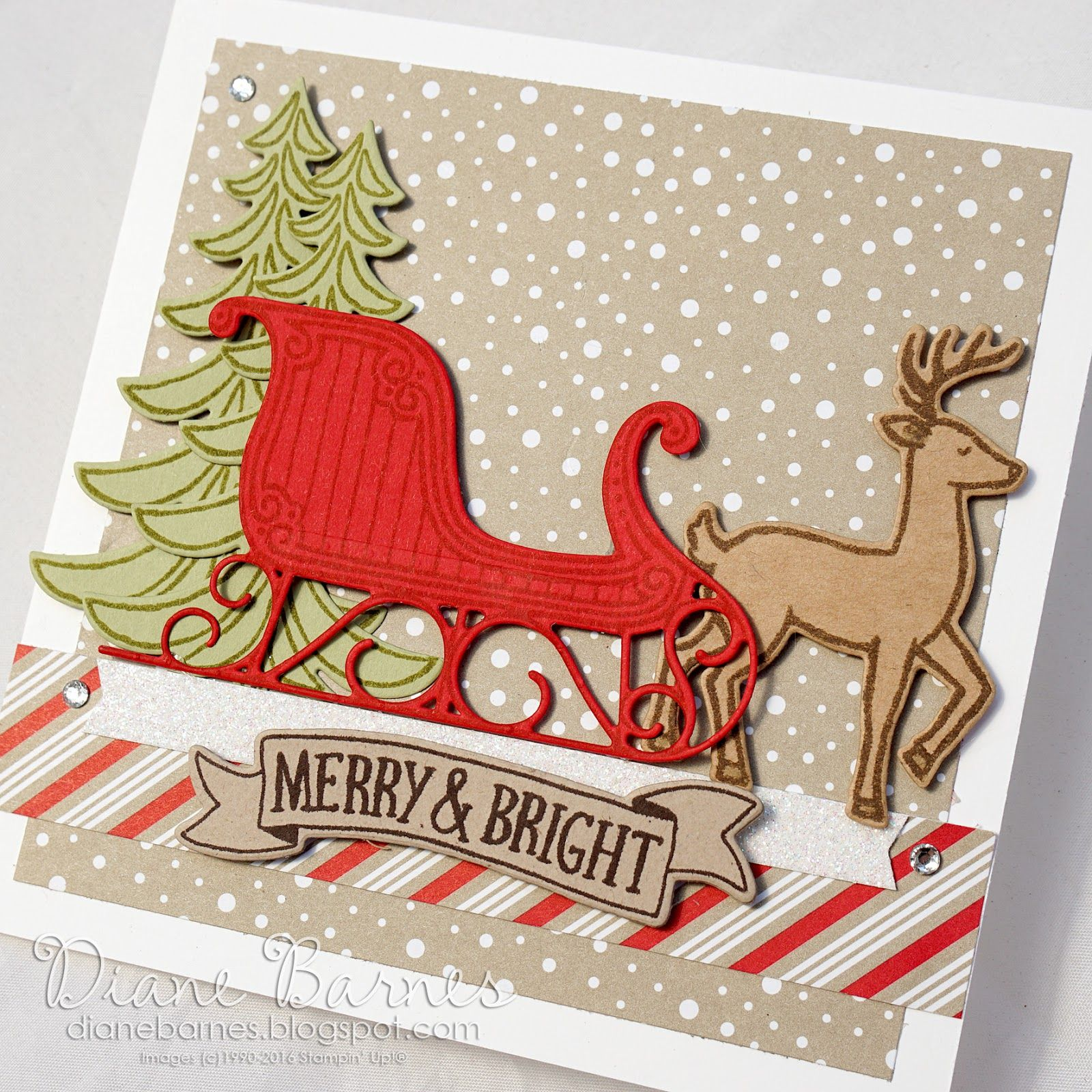 Colour Me Happy Holiday Cards Pinterest Santa Sleigh