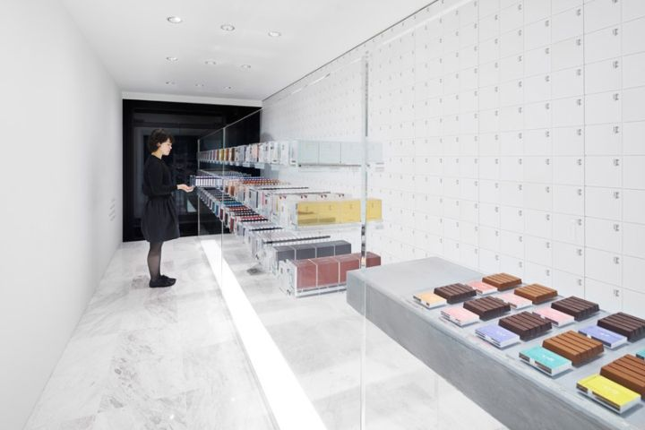 BbyB | chocolateshop | Nendo