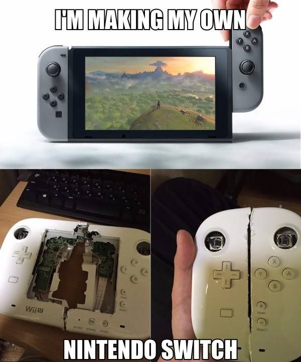 Nintendo Switch Nintendo Video Game Images Video Game Memes