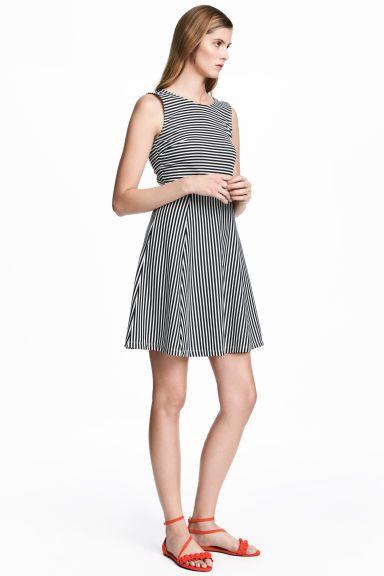 a5ba559c Krótka sukienka z dżerseju | obiady kolacje | Dresses, White dress ...