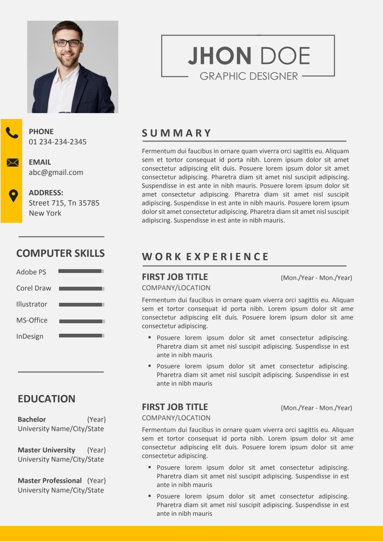 I Will Design Resume Cv And Cover Letter Template Resume Design Cover Letter Template Resume Cv