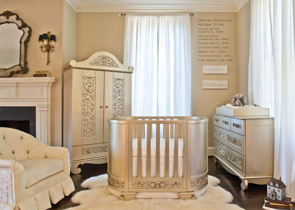 Baby Crib Designer Nursery Luxury