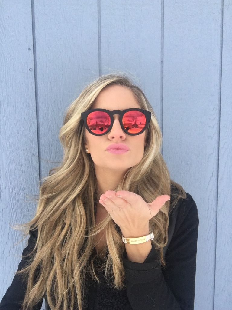 1f434df5008 LOVE EDITION DIME II - MATTE BLACK FRAME - RED GOLD MIRROR LENS - DIFF  Eyewear - 11