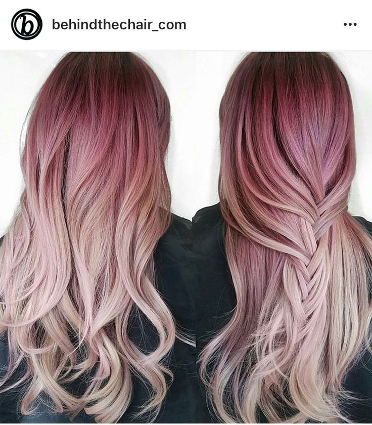 I Get This Look When I Just Let The Pink Dye Naturally Fade Awesome Hair Styles Dyed Hair Ombre Hair Color