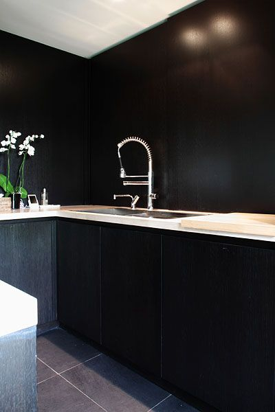 black kitchen van leuken interieur