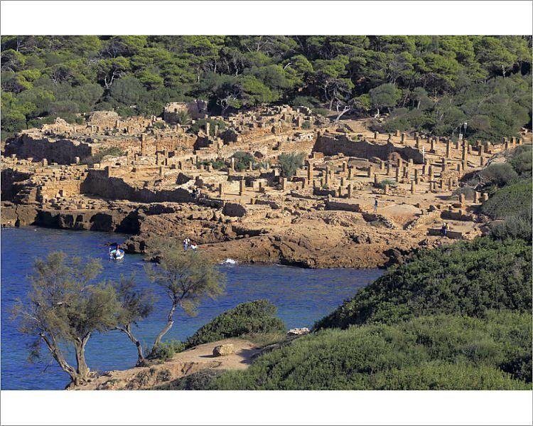Photograph-Ruins of ancient city, Tipaza, Tipaza Province, Algeria-10