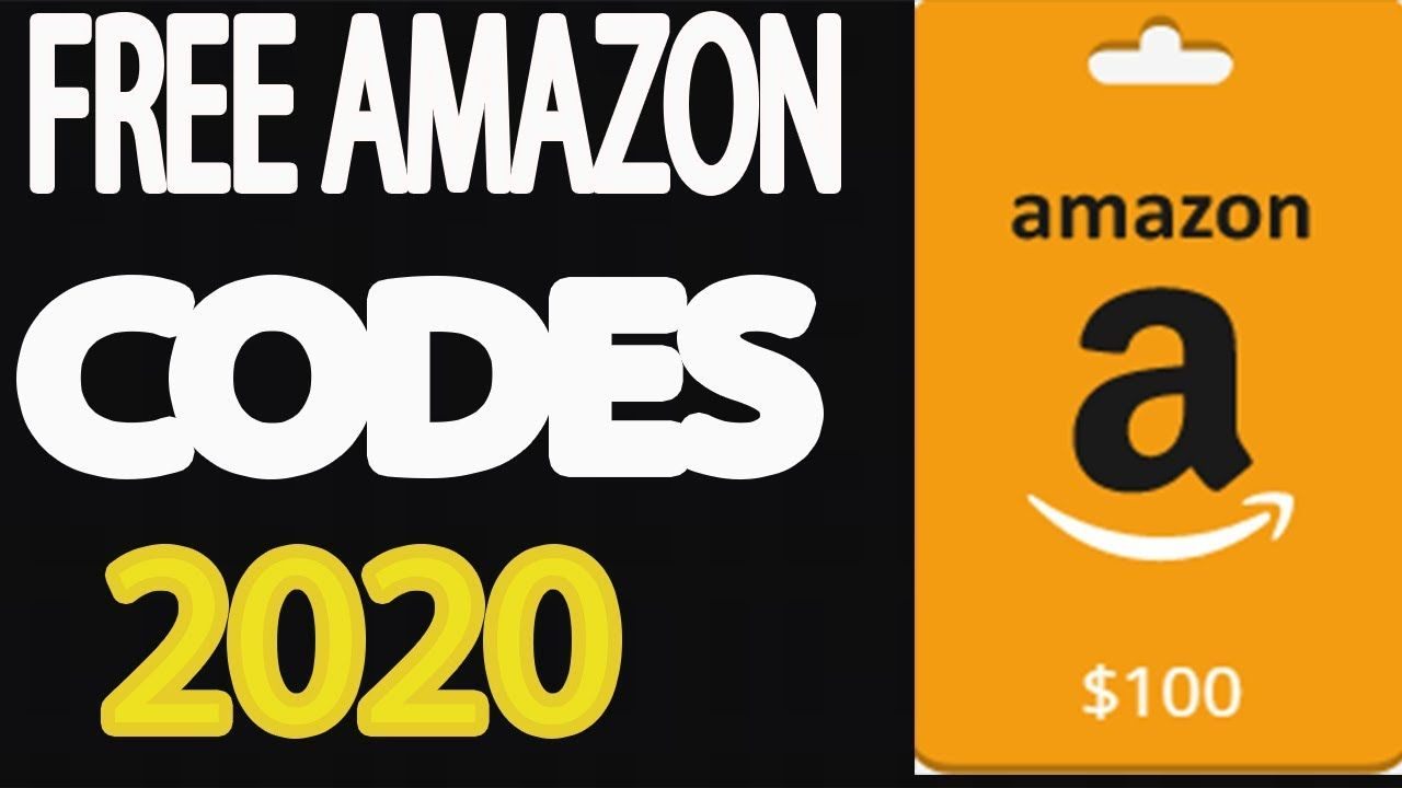 2020 free amazon codes how to get 100 amazon codes for