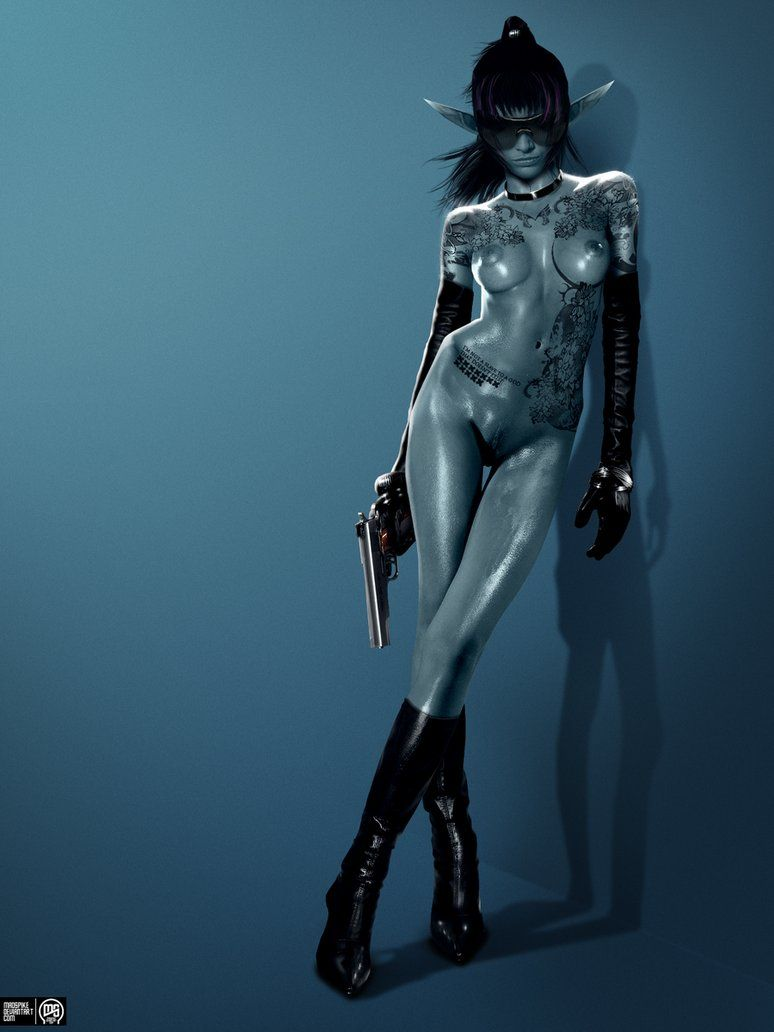 nude assassin sexy elven
