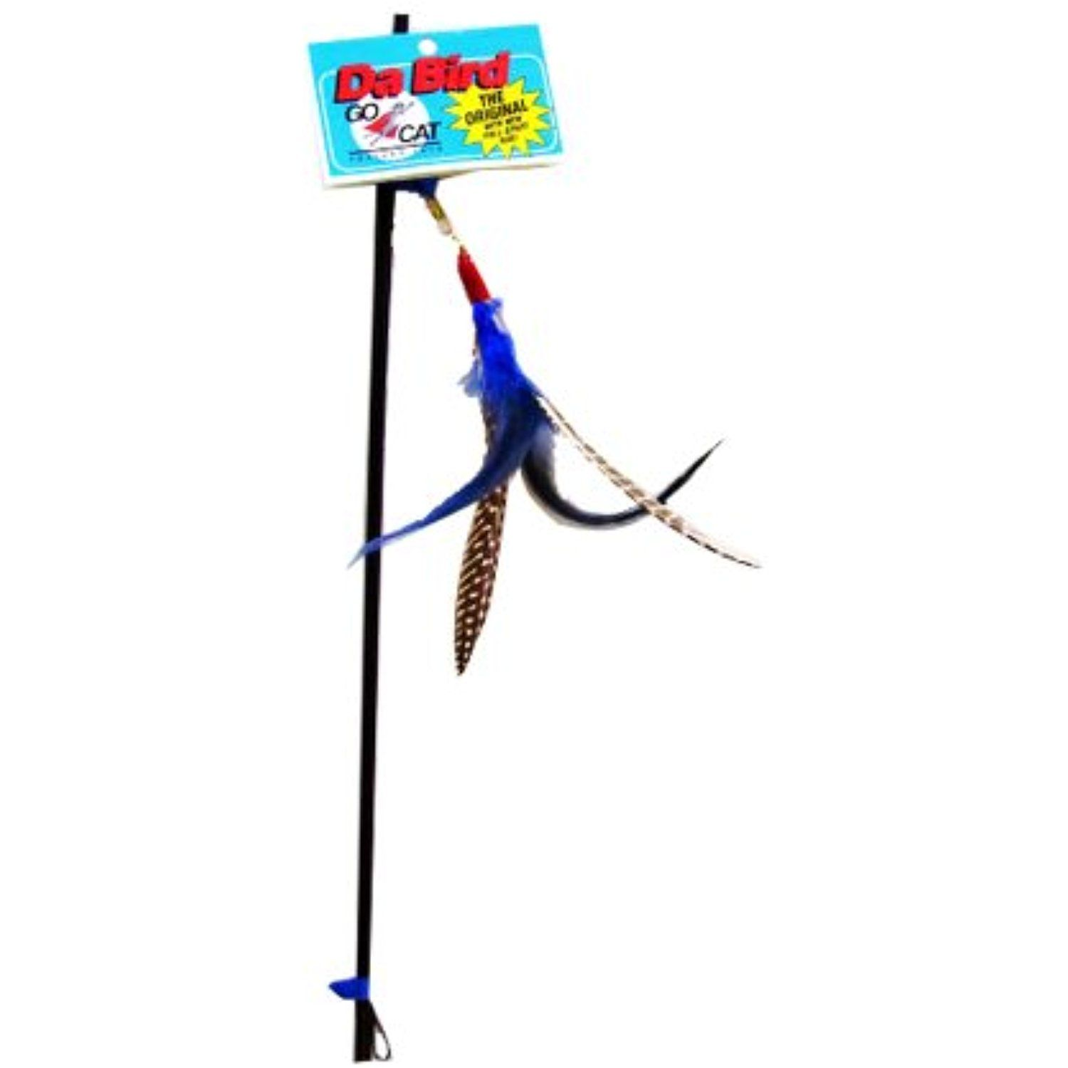 Gocat Da Bird Pull Apart Rod And Bird Cat Feather Toys Assorted Colors You Can Find More Details By Visiting The Image Link With Images Cat Toys Handmade Bird Toys
