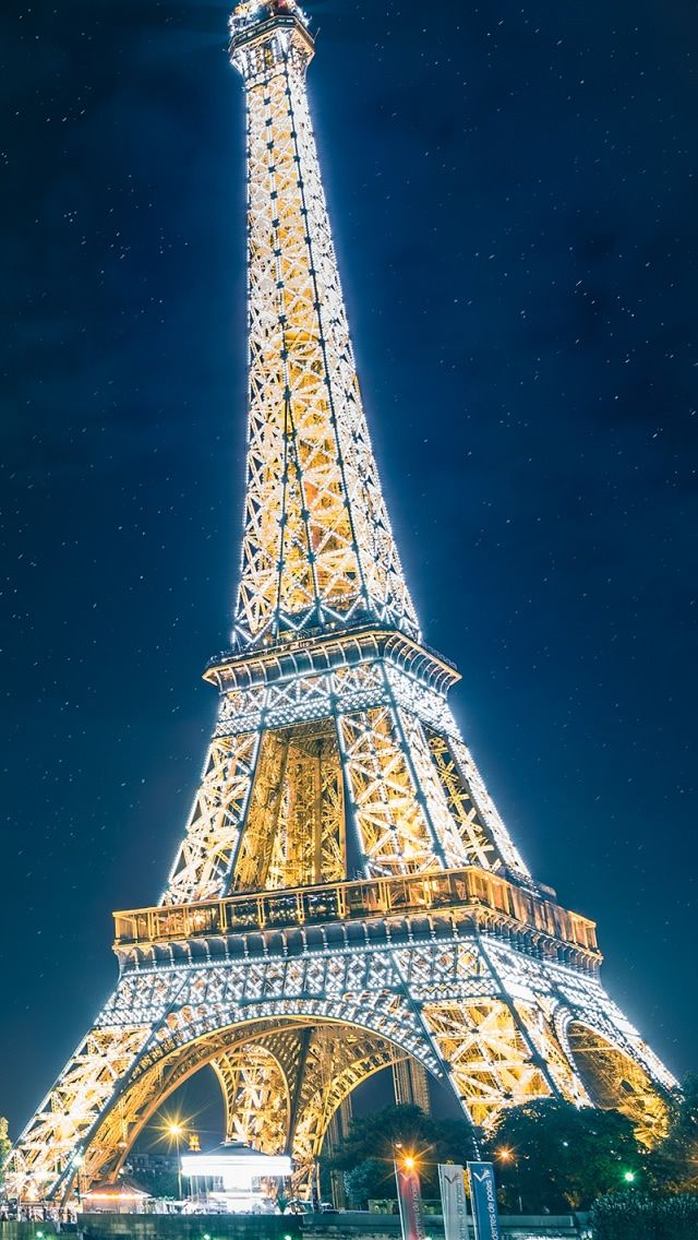 Pin By Ilikewallpaper All Iphone Wa On Iphone Wallpapers Paris Eiffel Tower Eiffel Tower Paris Wallpaper Blue eiffel tower wallpaper hd