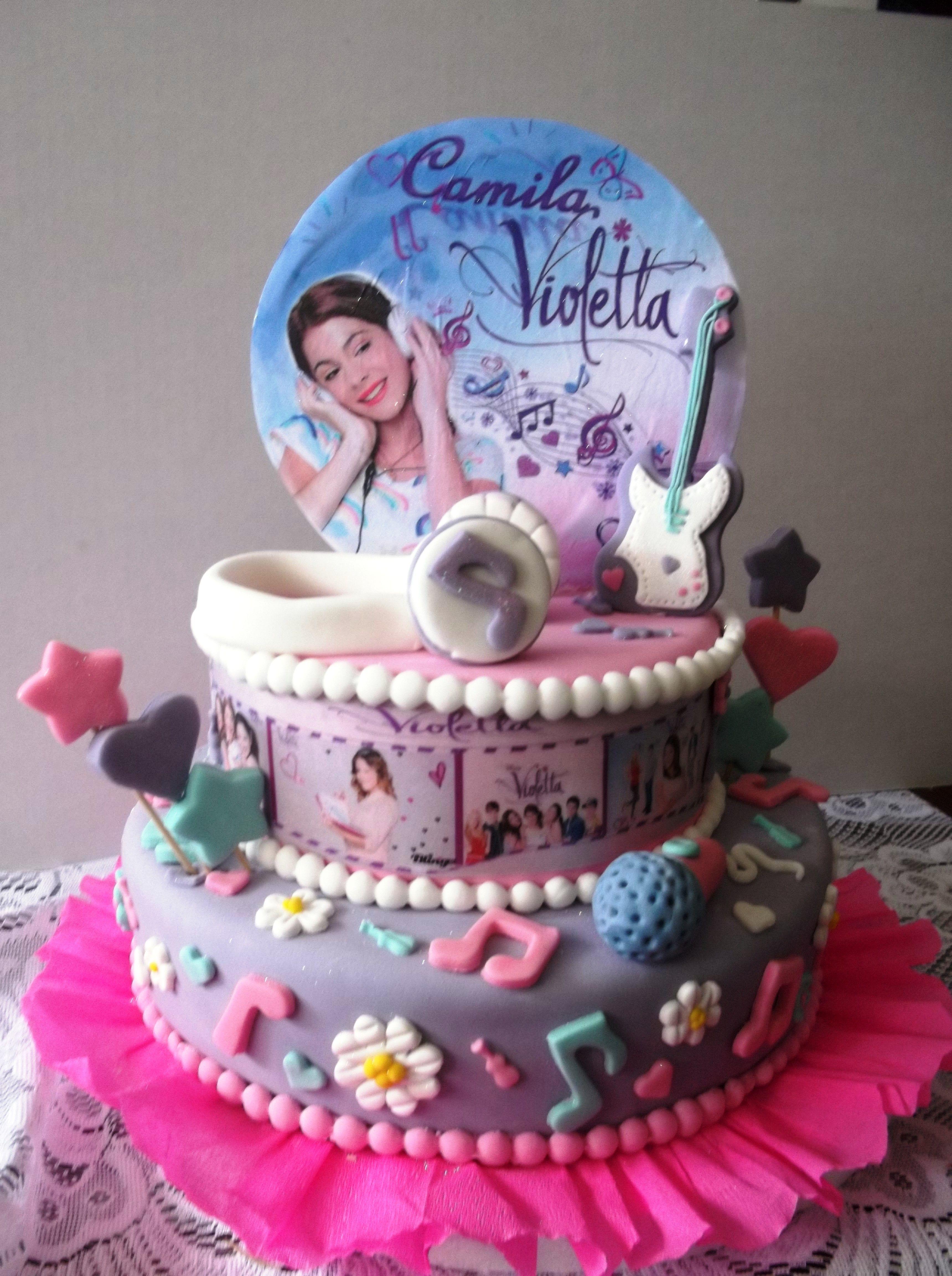 Torta Compleanno Violetta.Torta De Violetta Violetta Cake Torte Compleanno