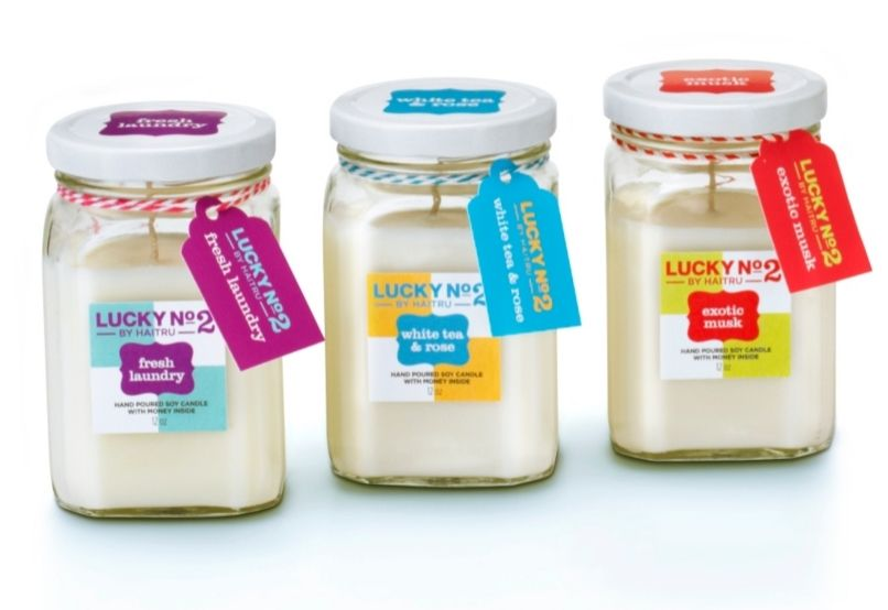 Haitru Adds Pop To Their Products Using Avery Labels And Tags Just