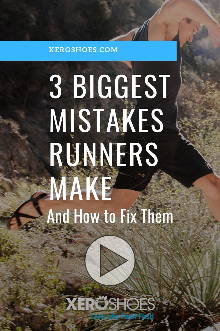 "Become a better runner with this free video course ,""The 3 biggest mistakes that runners make, and h..."