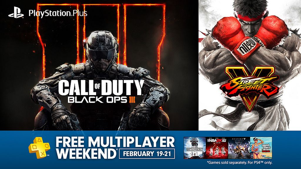 PlayStation 4 Multiplayer Is Free This Weekend