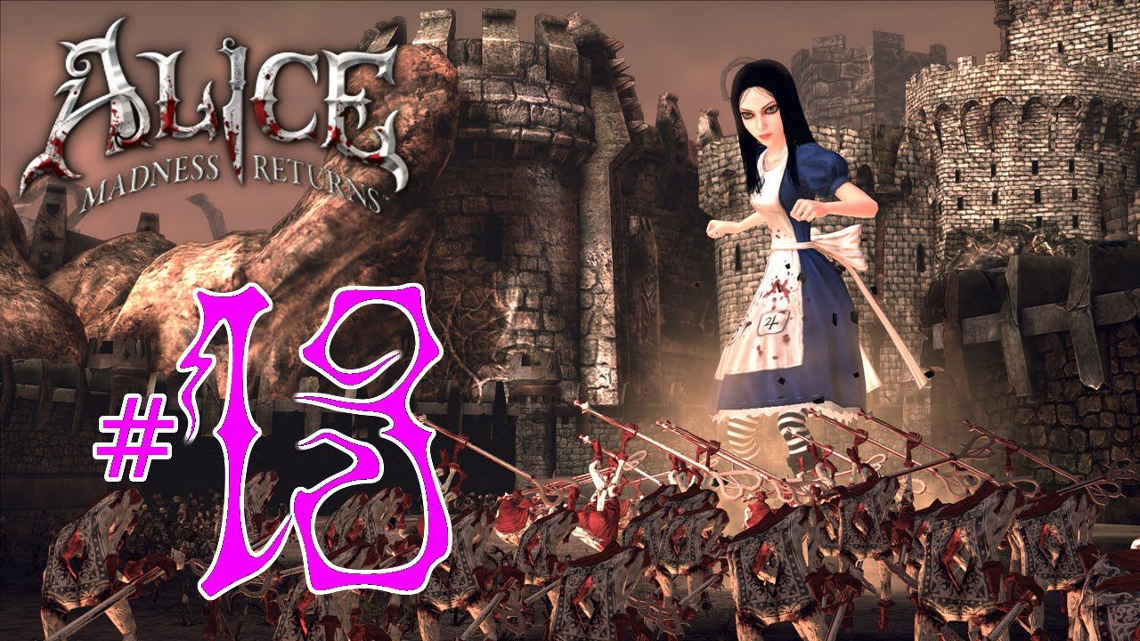 Alice Madness Returns Walkthrough Chapter 2 alice: madness returns - part 15.13 fall off   alice madness