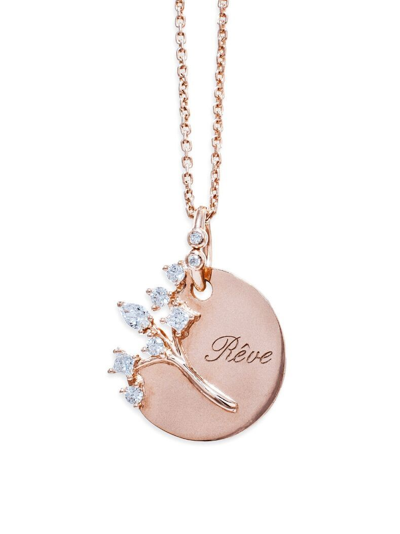 Dream Necklace Rose Gold #jewelrynecklaces | Sieraden