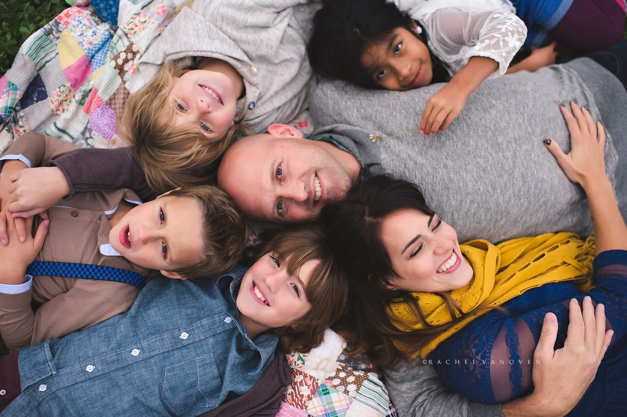 family portrait photography poses