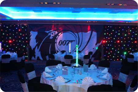 James Bond Themed Evenings Sweet Background For Photo Booth