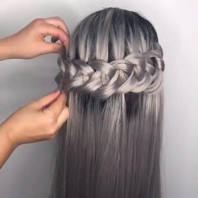 Goddess Braid Tutorial -   22 beauty Videos salon ideas