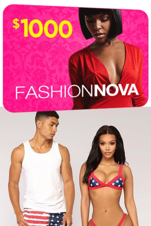 Fashionova gift card giveaway get a chance to win a 1000