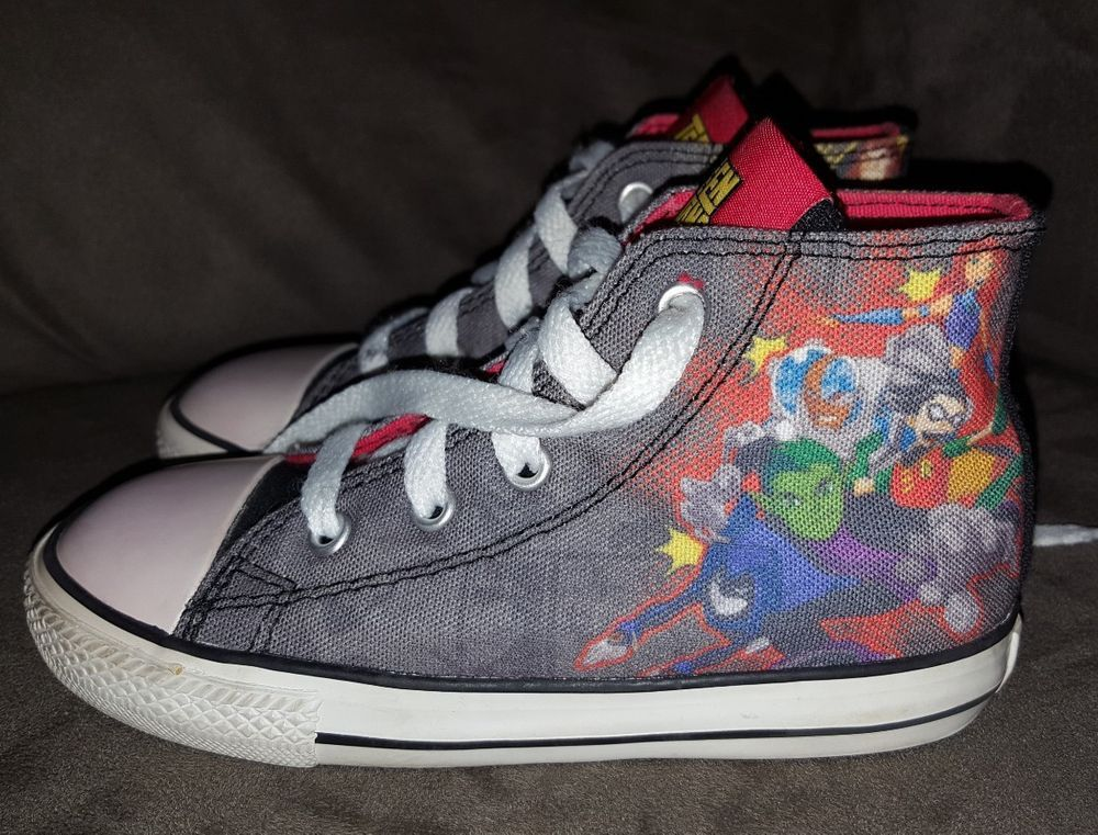 HTF Converse 10 toddler shoes Teen Titans high tops Robin Starfire Cyborg |  Clothing, Shoes & Accessories, Baby & Toddler Clothing, Baby Shoes | eBay!