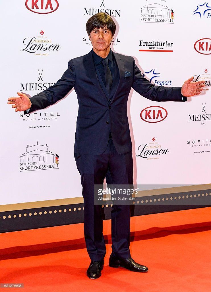 Joachim Loew poses during the German Sports Media Ball (35