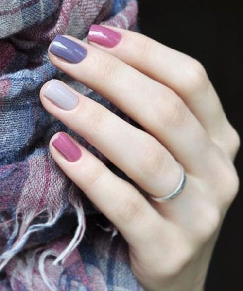 Best Multicolored Nail Art Designs to Look Stylish and Pretty - Best Multicolor Nail Art Designs To Look Stylish And Pretty
