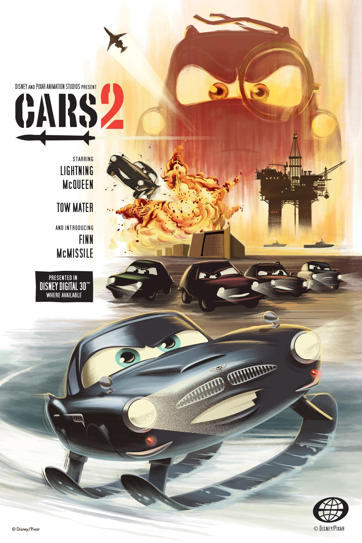 CARS-2 movie poster