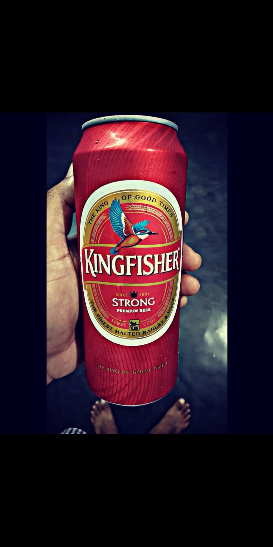 Strong Beer Malt San Pellegrino Kingfisher