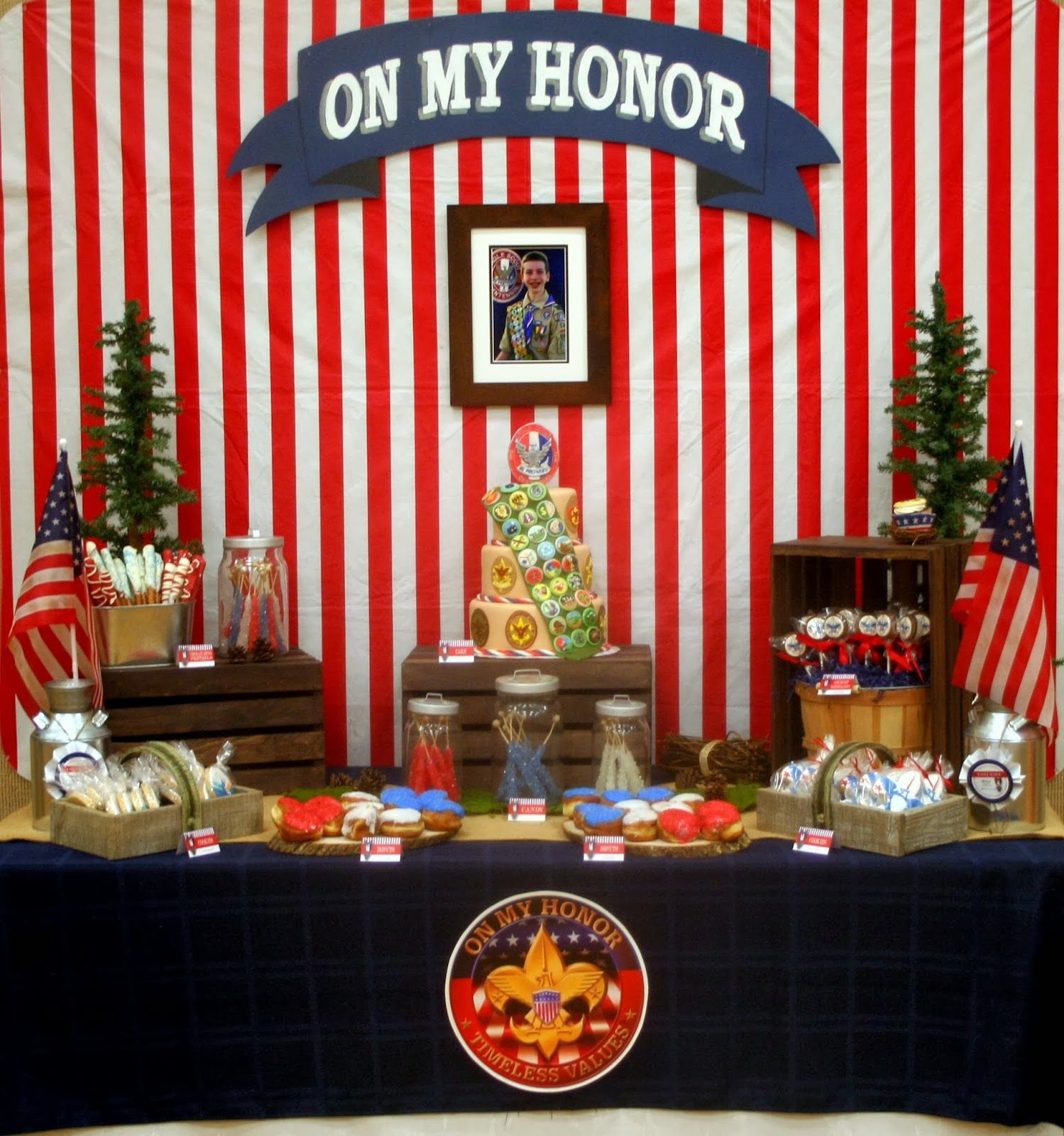 Cub Scout Christmas Party Ideas Part - 37: Eagle Scout Court Of Honor #EagleScout #BSA #CourtofHonor