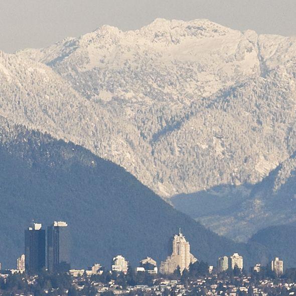 thr Coast Mountains Vancouver BC