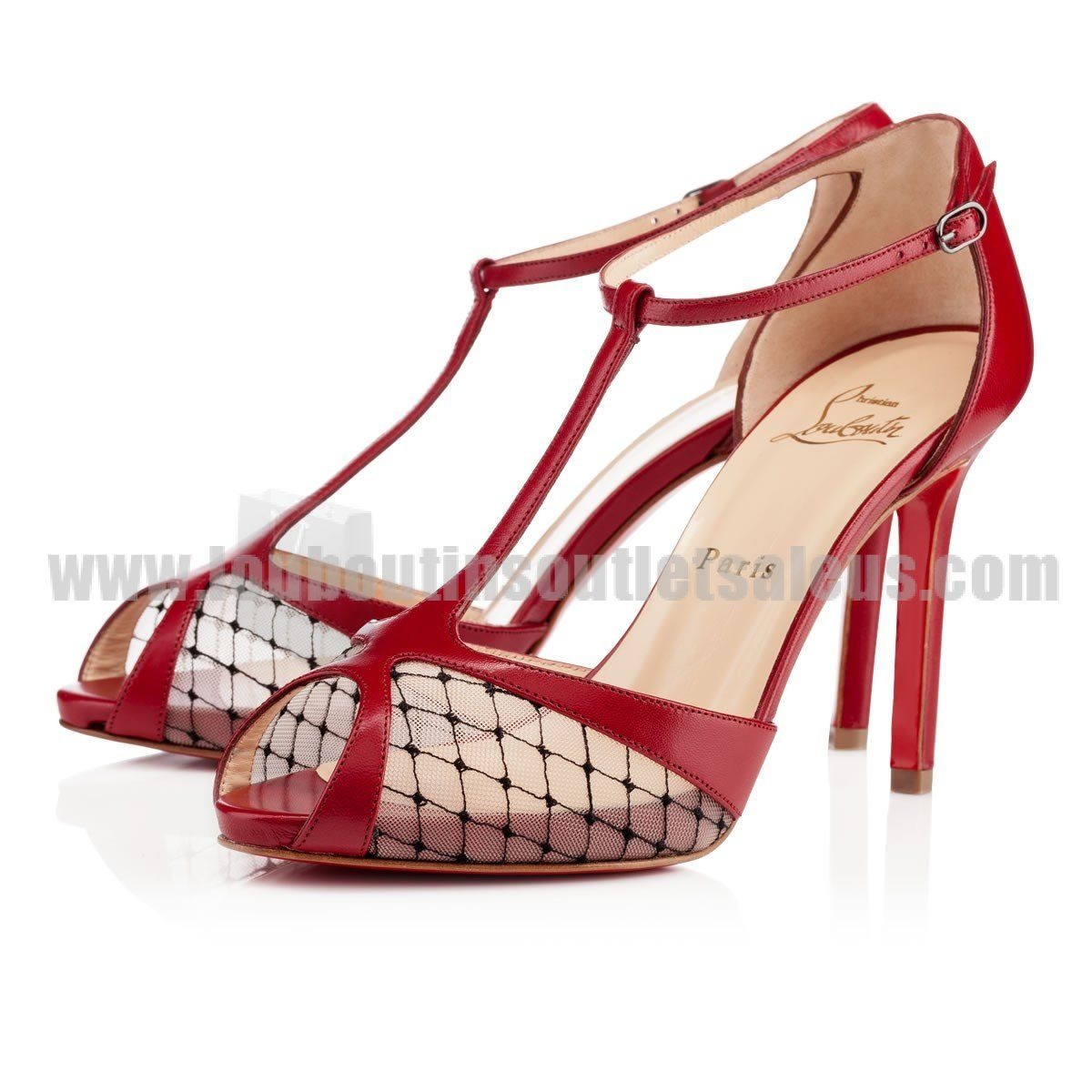 christian louboutin lagoula resille lace 100mm red red bottom rh za pinterest com