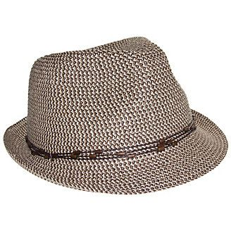 Nine West Womens Packable Brown Fedora Hat | Bealls Florida
