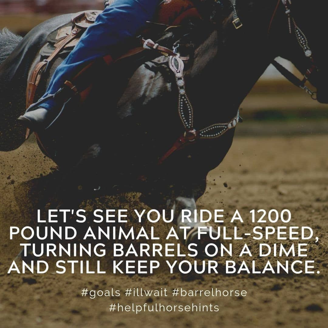 Barrel Racing Complete Guide Racing quotes, Barrel