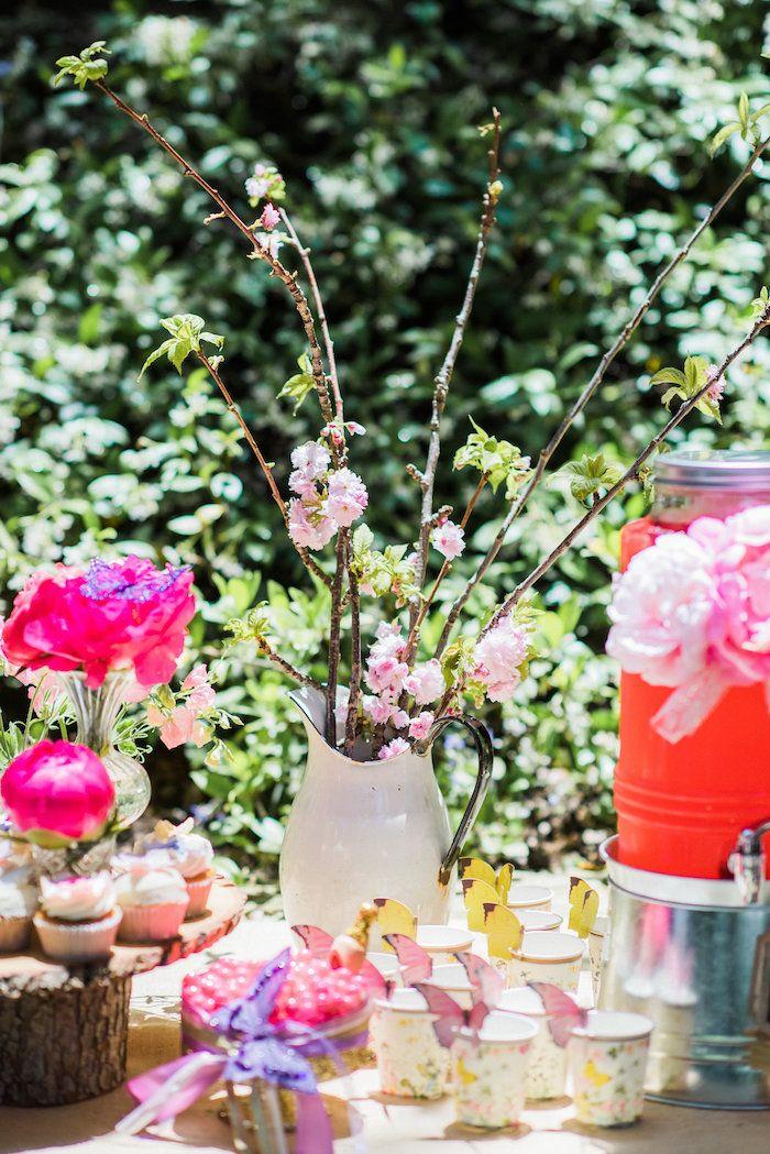 Enchanted Fairy Garden Birthday Party | Garden birthday parties ...